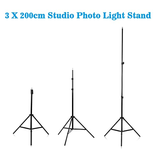 Craphy SHOX-012 Kit de Iluminación Continua LED para Estudio Fotografía (20