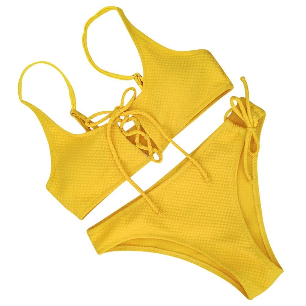 Medium THOR-BEI Bikini-Maillots de Bain pour Femmes Sexy Split Bikini Maillots de Bain Bikini -8151Bikinis (Taille   XL)