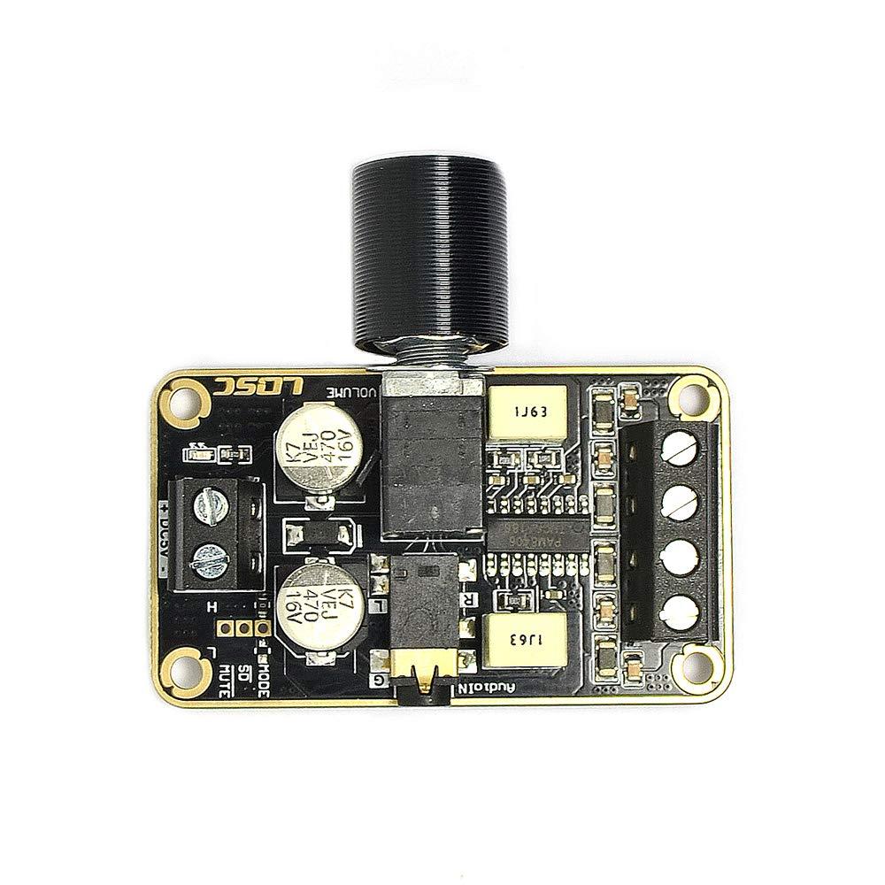 5W * 2 Classe D Amplificatore di Potenza Digitale Scheda Amplificatore di Potenza a due Canali Modulo Amplificatore Preamplificatore DIY Q-BAIHE LQ-AMP10W-2*5W