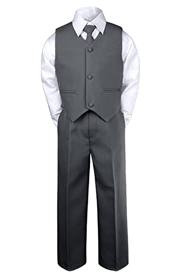 Gino Giovanni Boys Formal 2 Buttons Pinstripe Dresswear Suit Set