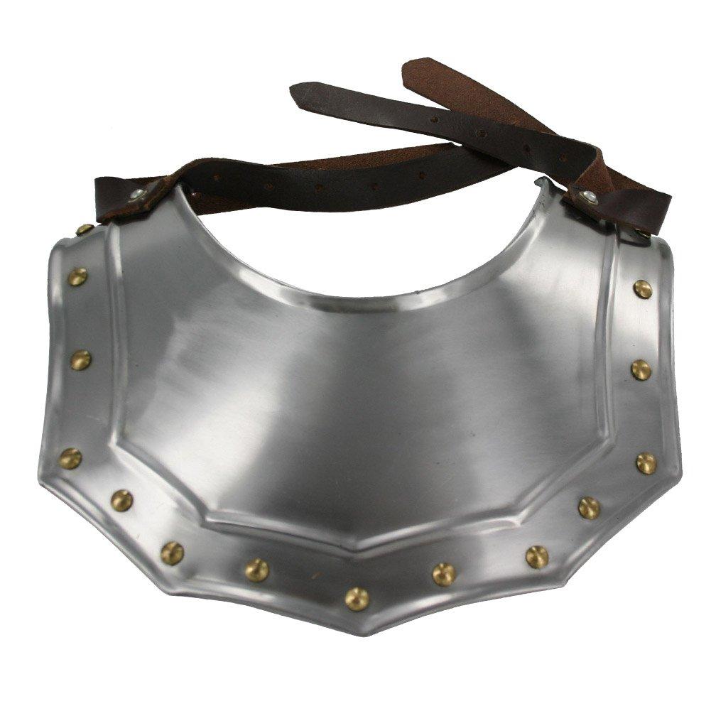 Renaissance Armor Gorget Neck Plate 18 Gauge Steel