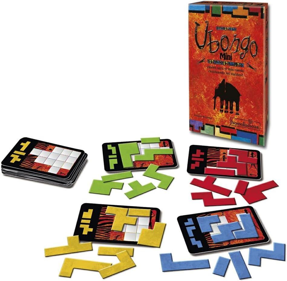 Devir - Ubongo Mini (HLUBONGOMN): Amazon.es: Juguetes y juegos
