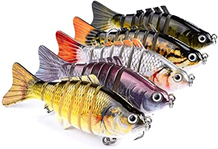 Details about  /Glowing Fishing Lure Anti-knock Outdoor Equipment Tools Supplies Bionic