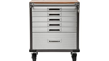 Kare Design – 6 cajones archivadores, Acero eficiencia Madera