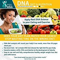 MiaDNA Genetic Home DNA Test Kit for Diet & Nutrition ! Leverage Personal Genetic Testing to Uncover Your Dietary Profile and Body Response to Food! Diet Plan Tailored for You with Genetic Analysis