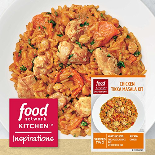 Food Network Kitchen Inspirations Chicken Tikka Masala Meal Kit 8