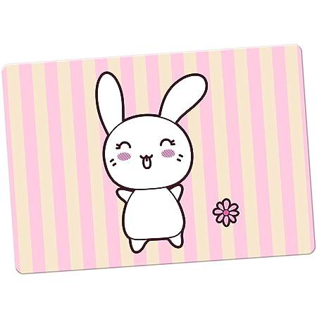 Funny & Cute Kawaii rosa conejos imán para nevera, Tongue Out ...
