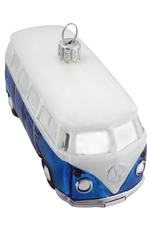 Hamburger Weihnachtskontor - Christbaumschmuck - VW Bus blau Official Licensed Produkt B076M7BSVS Anhnger