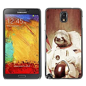 Design for Girls Plastic Cover Case FOR Samsung Note 3 N9000 Moon Space Travel Art Tree Sloth Animal Cosmos OBBA