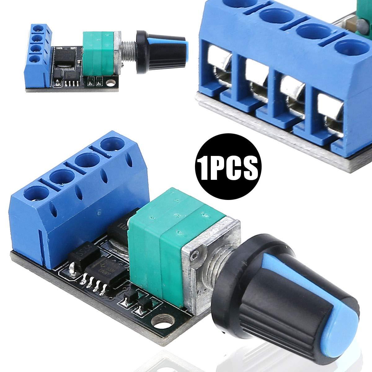 DC motor speed governor PWM speed regulation LED dimming 10A//5V-16V modules
