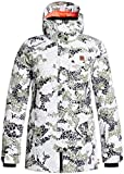 DC Women's Nature Disruptive Pattern Material J Snow Jacket Disruptive Pattern Material Camo Outerwear MD