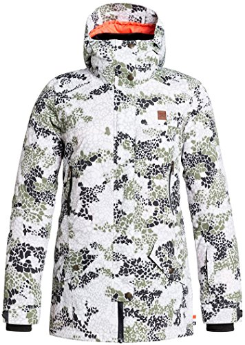 DC Women's Nature Disruptive Pattern Material J Snow Jacket Disruptive Pattern Material Camo Outerwear MD by DC