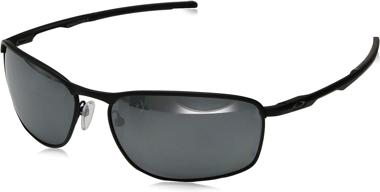 Oakley Men s OO4107 Conductor 8 Rectangular Metal Sunglasses