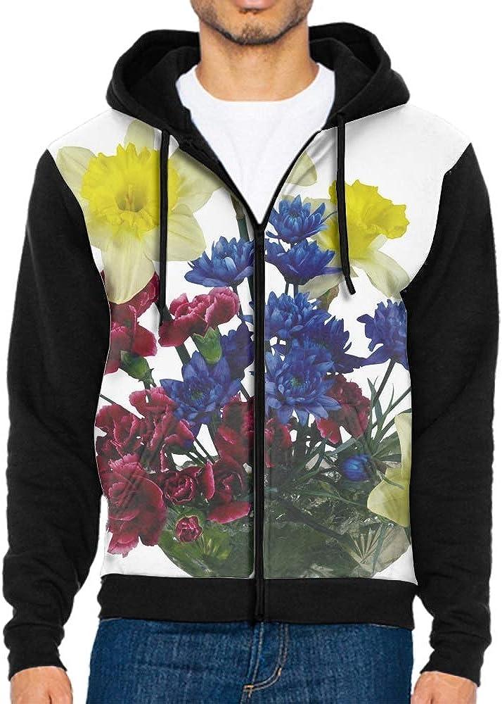Shenghong Lin Sugar Skull Funny Mens Black Hoodie Sweatshirt Sportswear Jackets With Hoodies