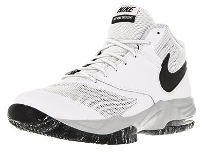 big sale 74133 72611 Nike Men s Air Max Emergent White Blck Mtllc Slvr pr Pltnm Basketball Shoe