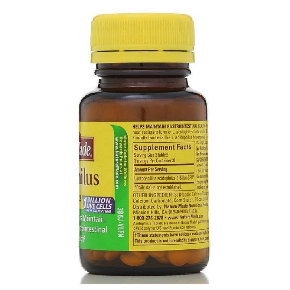 Nm Acidophilus Probiotics Size 60ct Pv Acidophilus Probiotics 60ct
