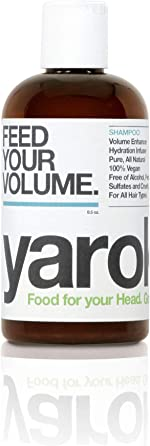 Yarok Shampoo Feed Your Volume for All Hair Types, Vegan, Without