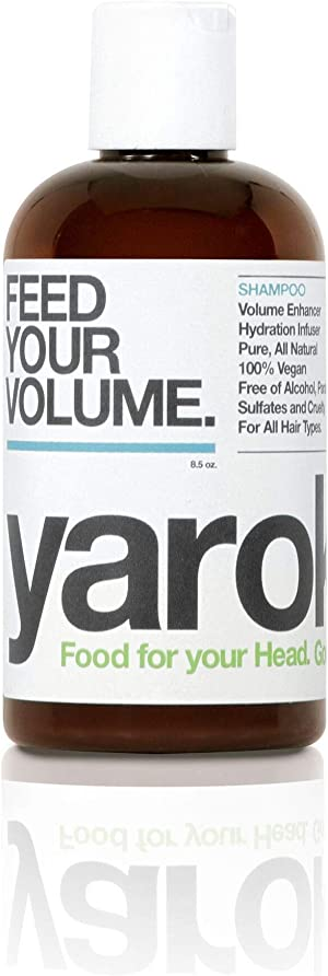 Yarok Shampoo Feed Your Volume for All Hair Types, Vegan, Without Alcohol, Sulfate, Parabens, Toxins and Gluten. Made in the USA (8.5 Ounce)