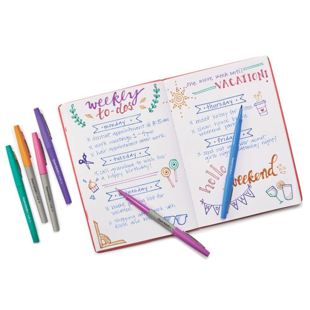 Paper Mate Flair penna colori Candy Pop scatola da 12 punta ultra fine da 0,33 mm