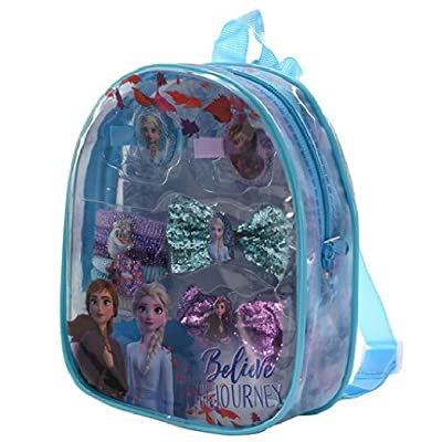 Disney Frozen 2 Bowtique Hair Accessory Gift Set Mini Backpack: Clothing [5Bkhe1209522]