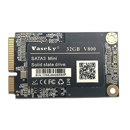 ForU-1 Vaseky Mini mSATA 3 Disco Duro SSD de 1,8 Pulgadas 32G ...