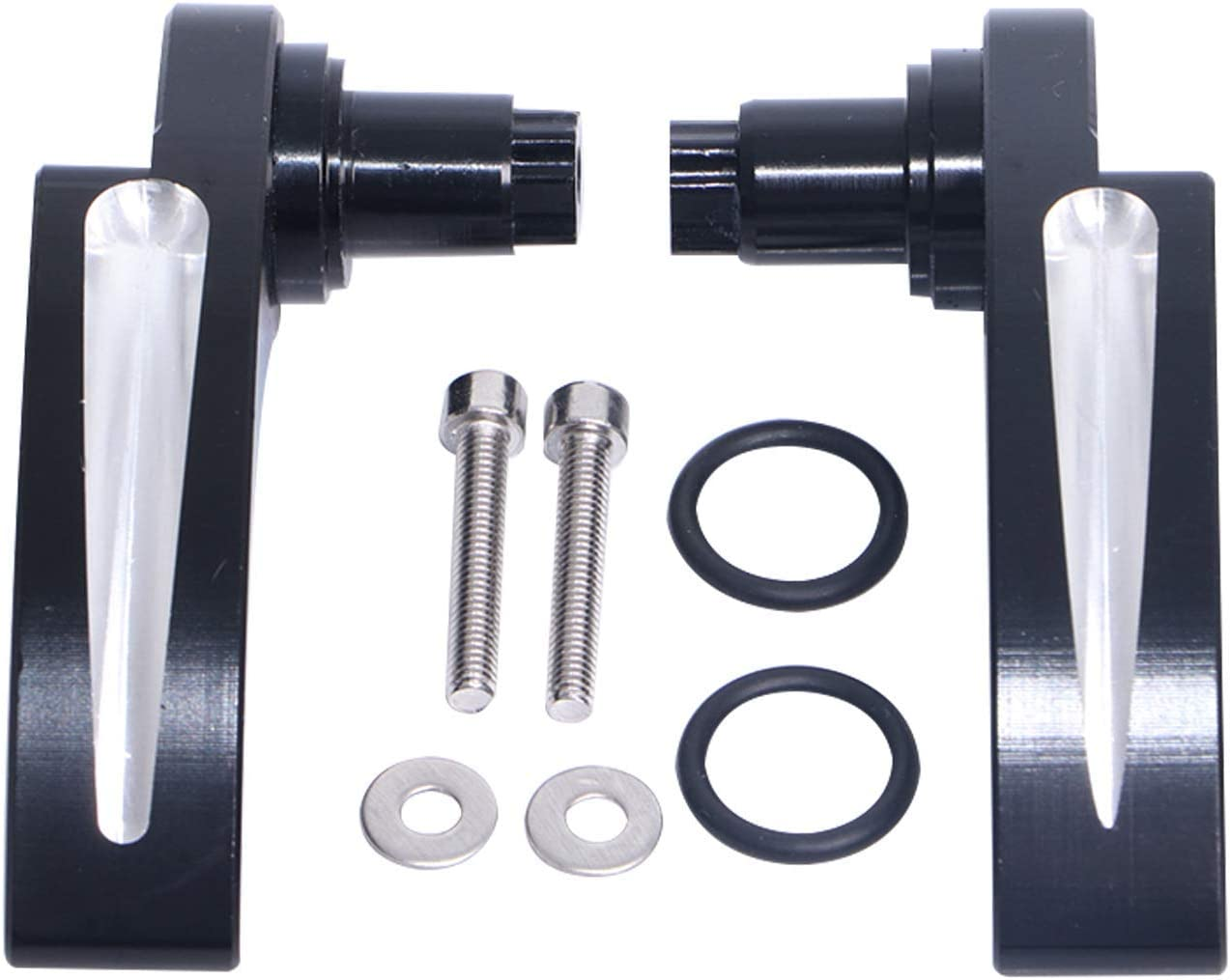 Edge Cutting Saddlebag Latch Cover and Lid Lifter Kit Compatible with 2014-2018 Harley Touring Road King Street Electra Glide