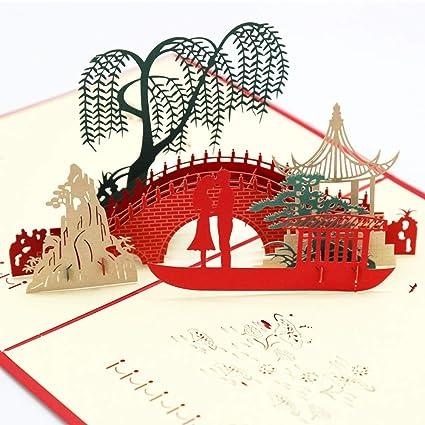 Tarjeta De FelicitacióN Emergente 3D Tarjeta De FelicitacióN ...