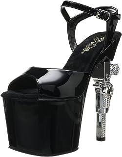 dc42050a080 Pleaser Women s Revolver-709 Platform Strap Sandals