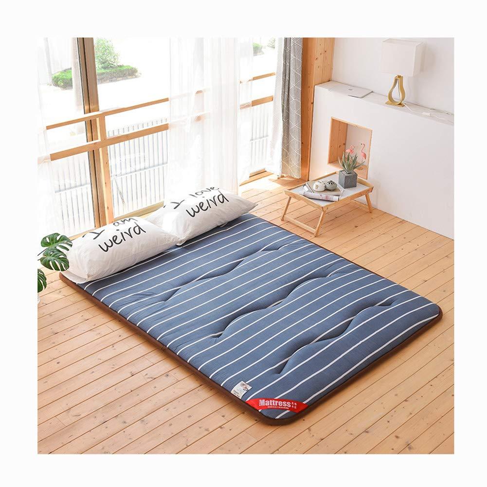 4 1202005cm Mattress,Cotton Tatami Floor Mat Anti-Slip Folding Mattress Breathable Skin-Friendly Mat Sleeping Pad -Cube, 3,120  200  5cm