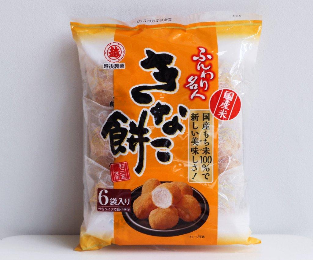Japanese Ichigoseika Funwari Meijin Fluffy Kinako Soy Flour Mochi Snack 85g by Ichigoseika Funwari Meijin