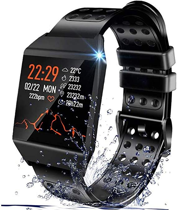Amazon.com: Reloj inteligente Beaulyn resistente al agua, 7 ...