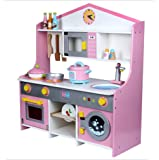 おままごとキッチン お料理 木製 キッチンセット台所 おもちゃ ごっこ遊び 組立式 調理器具 誕生日 プレゼント 入園祝い