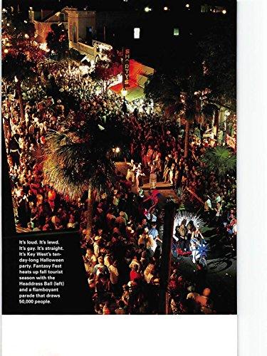 Print Ad 1999 It's loud, lewd, gay, straight, key west's tenday-long Halloween -