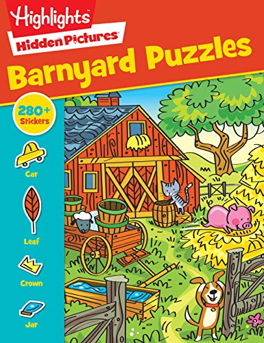 Barnyard Puzzles (Highlights  Sticker Hidden Pictures)