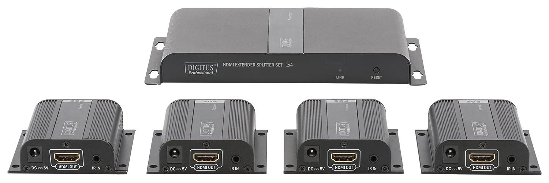 Digitus Network Professional DS 55303 HDMIリピーターキットケーブル40 mブラック   B079Z52YGM