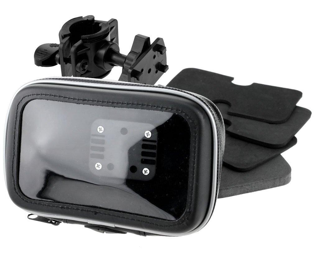 Nouveau 5'/6' GPS SAT NAV Impermé able Housse En Cuir Support d' Installation Moto Vé lo VTT