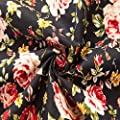 XI PENG Men's Tropical Short Sleeve Floral Print Beach Aloha Hawaiian Shirt