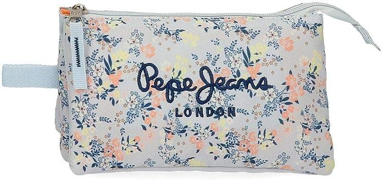 Estuche Pepe Jeans Malila Tres Compartimentos: Amazon.es: Equipaje
