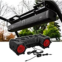 Hifonics TPS-10 Ten-Speaker Waterproof Bluetooth Marine,ATV,UTV Soundbar System