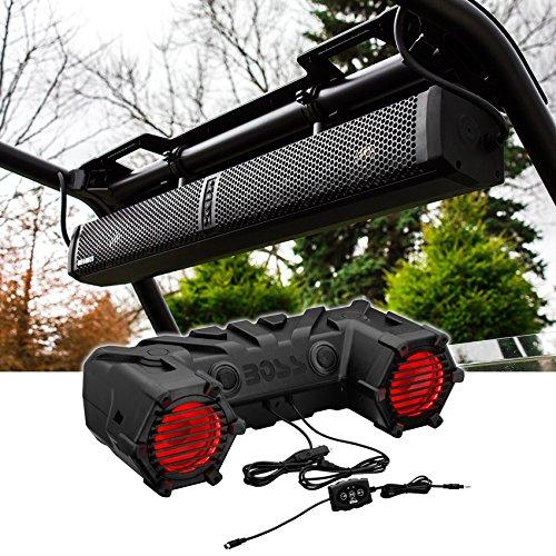 Hifonics TPS-10 Ten-Speaker Waterproof Bluetooth Marine,ATV,