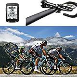 Garmin Edge Bike Mount Bicycle Computer Mount Bike out-front Mount Set for Garmin Edge 1000/820/810/500/520/510/200 GPS (Black)