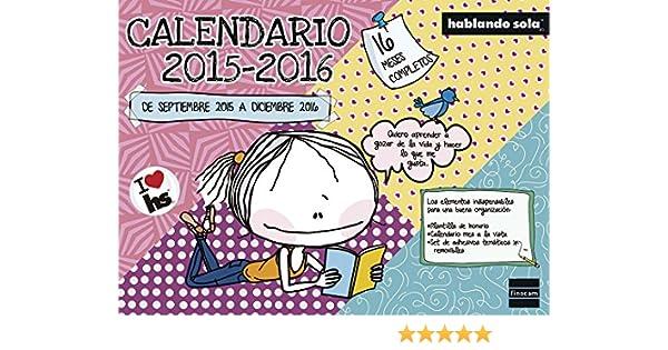 Finocam 945910 - Calendario 16 meses, castellano