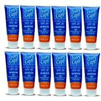 (Pack of 12) new Ivory Sun SPF 30 Sun Protection with Light Skin Support Elements