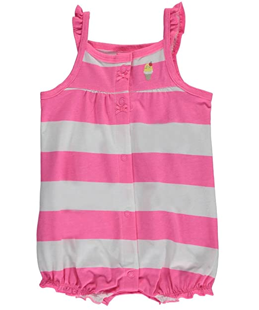 0b8a8045c Amazon.com  Carter s Baby Girls  Snap-Up Cotton Romper (3M