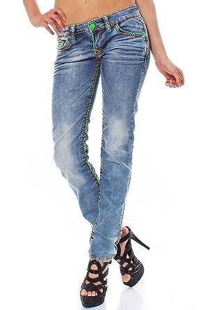 grüne jeans damen