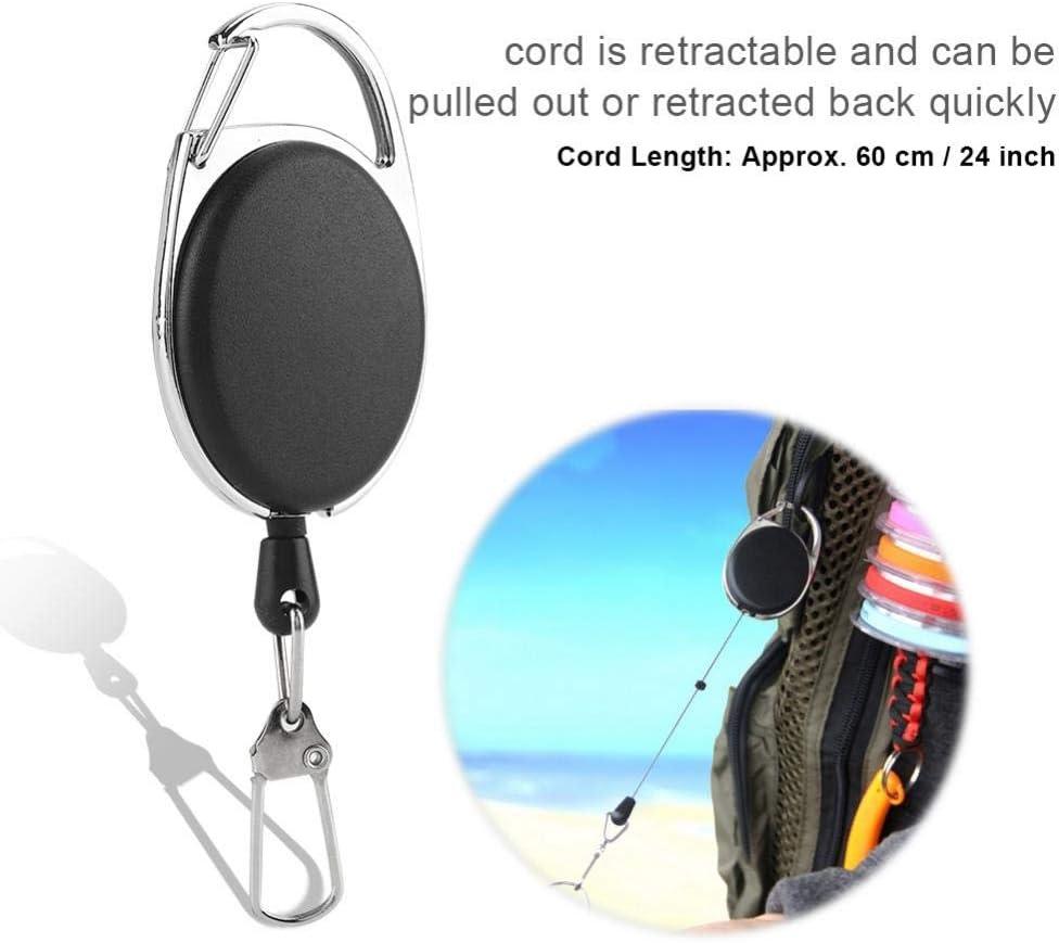 Retractable Cord Tool Gear Keeper Stopper Halter Outdoor-Angeln Retractor