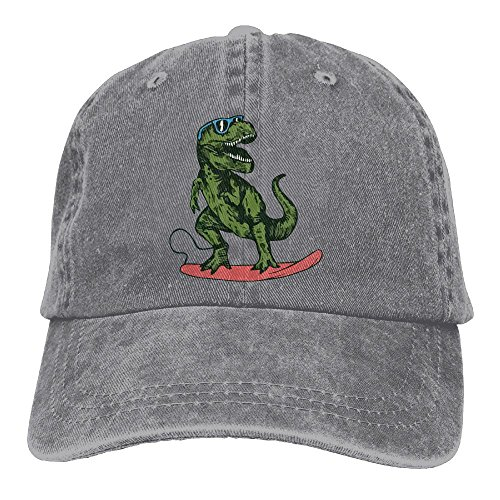 Happy Dinosaur Surfer Wearing Sunglasses Vintage Jeans Baseball Cap For Men And - Page Sunglasses Coloring