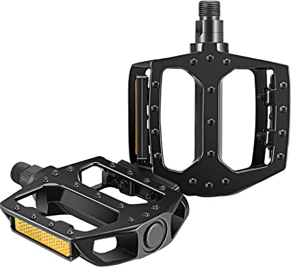 1 Pair Aluminium Alloy Bicycle Pedals Non-slip Mountain Bicycle Pedal Sets