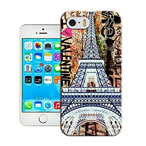 LarryToliver Customizable Eiffel Tower iphone Case Cover Protector Gift Idea, iphone 5/5s Case Show
