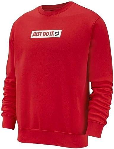 Nike Sudadera para Hombre Rojo BV5089657: Amazon.es: Ropa y accesorios